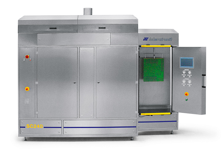 Solder Mask Spray Coating System SC 240 ® for higher Throughput